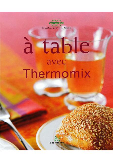 À table avec Thermomix