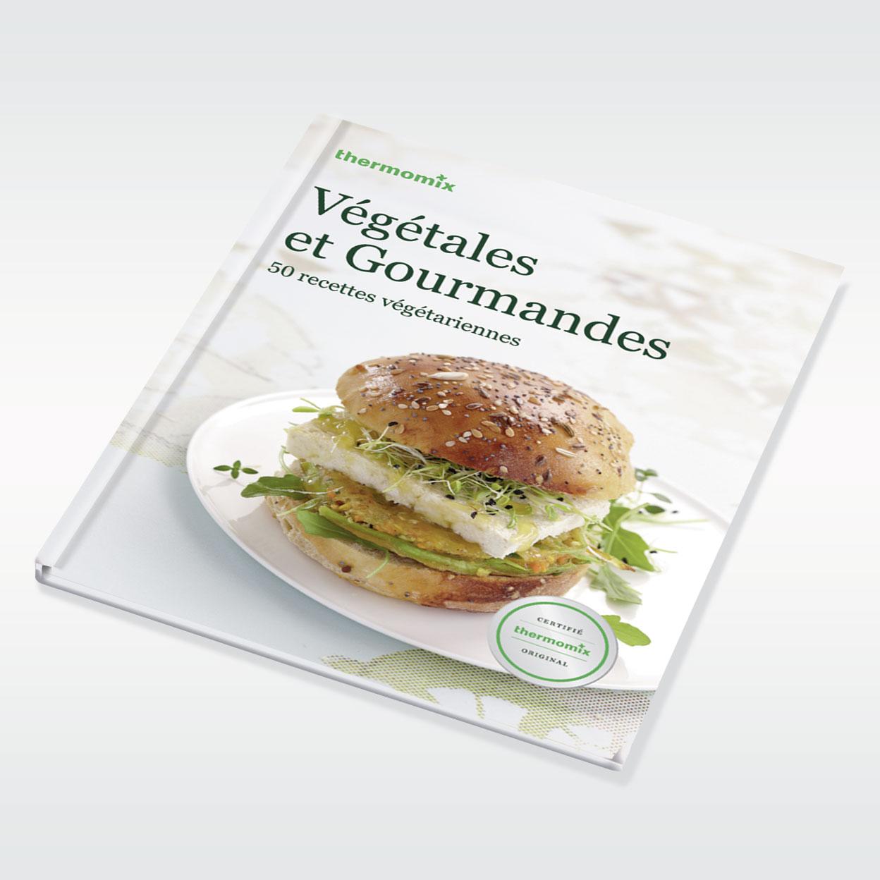 Végétales et Gourmandes – Livre