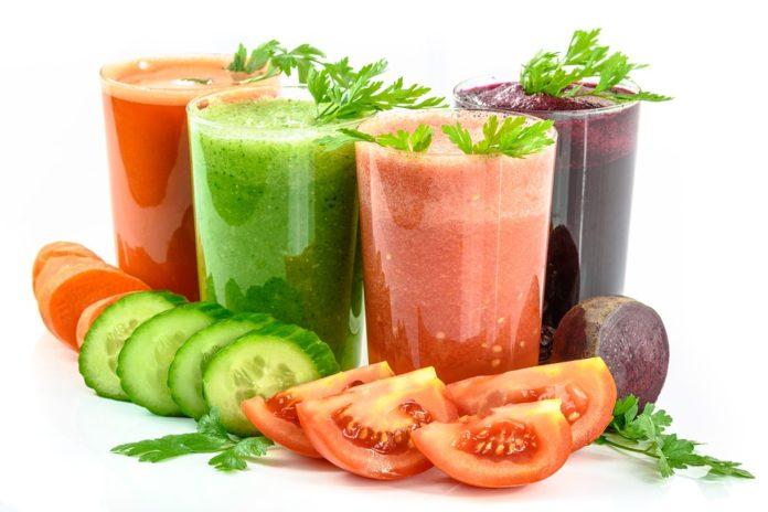 Jus de légumes vivant, cru ou cuit