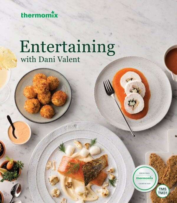Entertaining with Dani Valent Book and Chip Pack
