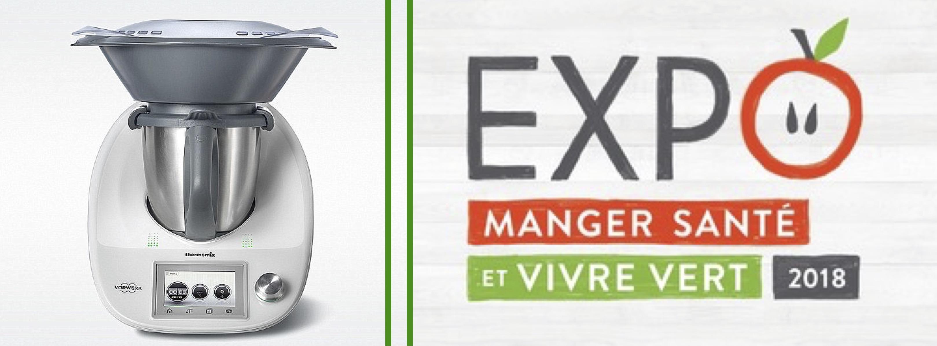 Thermomix® au Salon Manger Santé & Vivre Vert