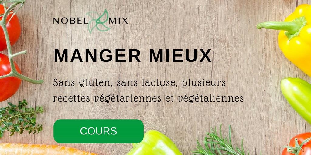 Cours de cuisine Thermomix : MANGER MIEUX