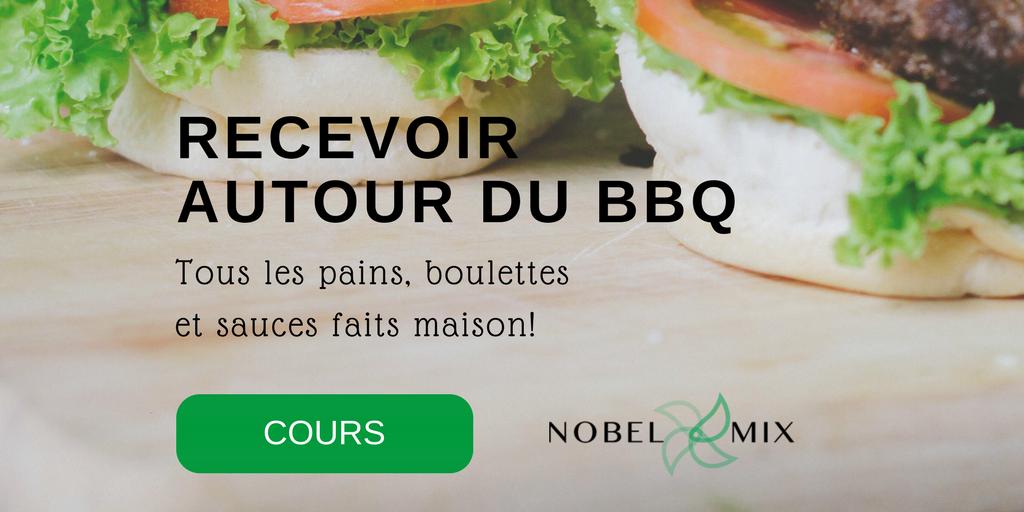 Cours de cuisine Thermomix : RECEVOIR AUTOUR DU BBQ