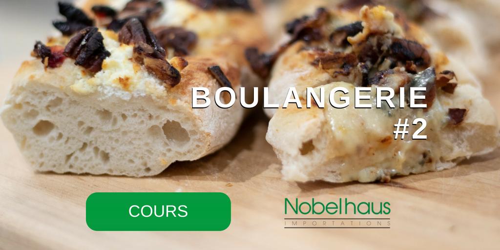 Cours de cuisine Thermomix : BOULANGERIE #2